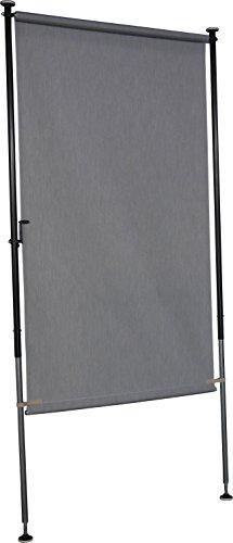 Angerer Balkon Sichtschutz Style granit, 270 x 150 x 225 cm, 2317/005, Grau