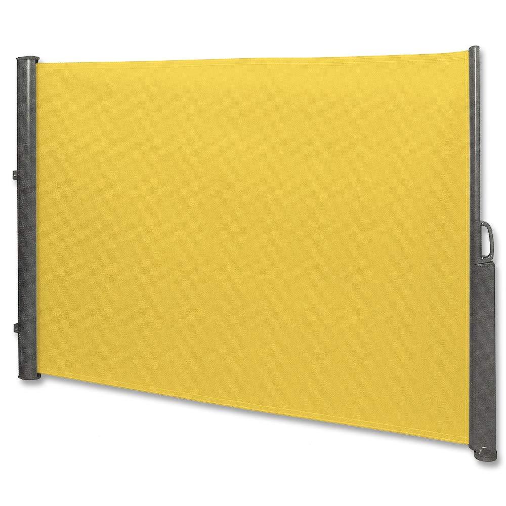 Seitenmarkise 350x180 Cm Seitenrollo 180x350 Trennwand 180x350cm