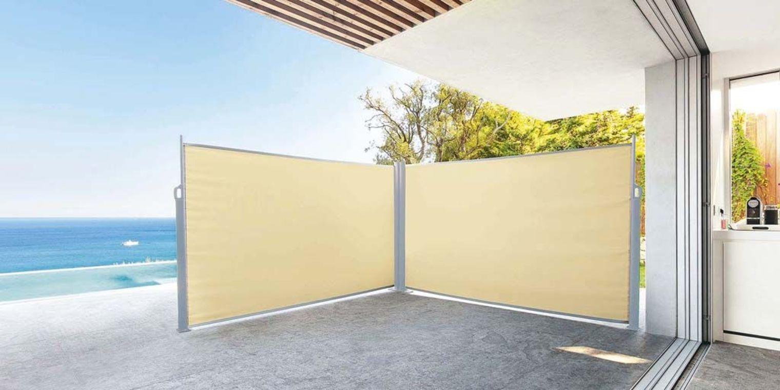 Seitenwandmarkise 500cm x 140cm