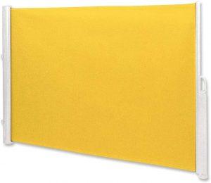 Seitenwandmarkise gelb