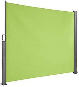 Seitenwandmarkise grün