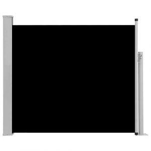 Seitenwandmarkise schwarz