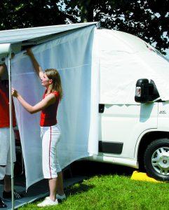 Sichtschutz Markise Wohnwagen